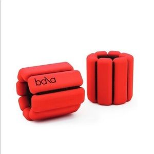 Bala Bangle 1 lb Weights Pair (Cherry Red)